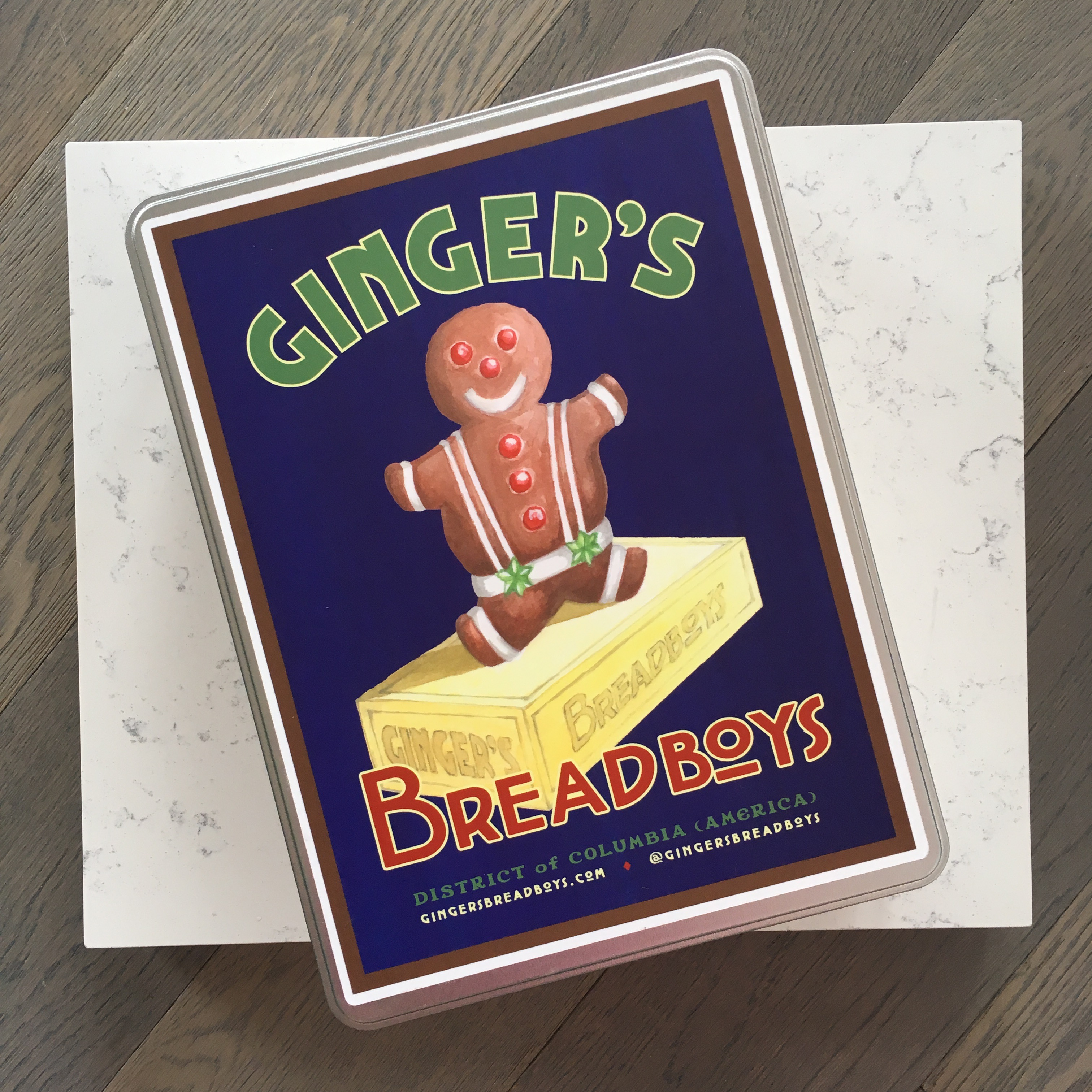 Ginger's Breadboys Gingerbread Cookie Kits